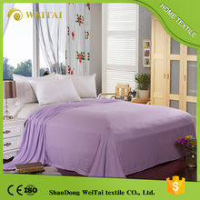 Quick dry second hand used bed sheets and towel bamboo blanket