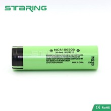 18650 ltihium battery NCR18650B 3400mah battery cell