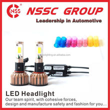 High Power Super Bright Motorcycle Led Headlamp Dual Beam HID LED Kit H3 headlight kit