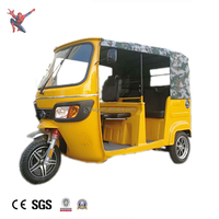 Battery operated eco-friendly hot sale now electric tricycle with great price bajaj