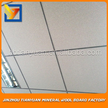 mineral fiber ceiling material in hospital