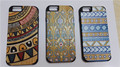 2016 new gadgets genuine wood bamboo cell phone back cover case for iphone 6 6S 6P