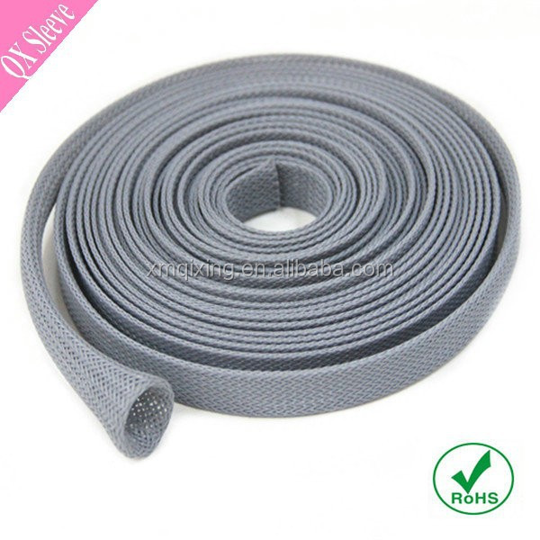 Expandable braided Nylon wire mesh sleeve