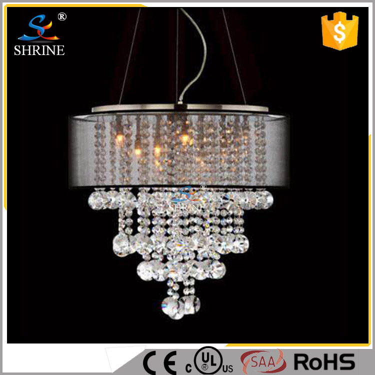China New Design LED Lighting Fixture Crystal Chandelier