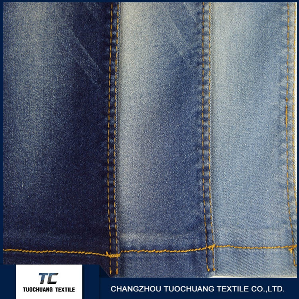 New product 2016 African denim fabric for clothing of China