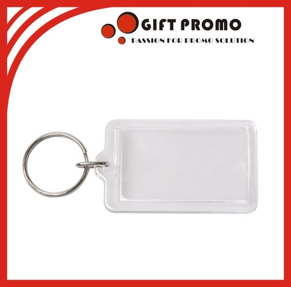 Custom Cheap Blank Acrylic Keyring