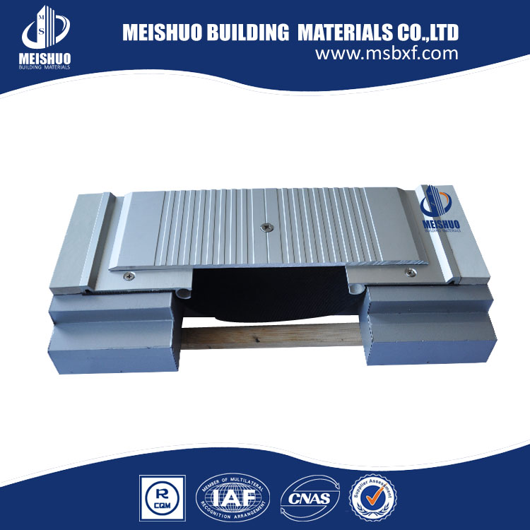 aluminium alloy expansion joint cover with water barrier