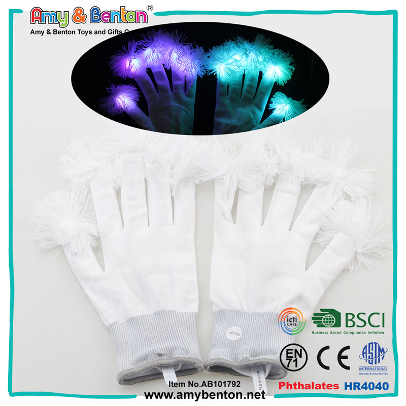 New Products Custom Rave Party LED Lighting Magic Gloves
