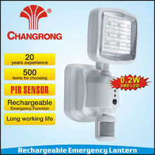 Rechargeable emergency channel light