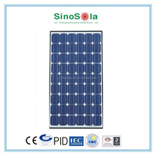265W Poly Transparent solar panel laminated with Tempered Glass&Transparent TPE