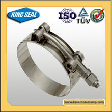Highly Polished Single Spring Wire king seal hose clamp