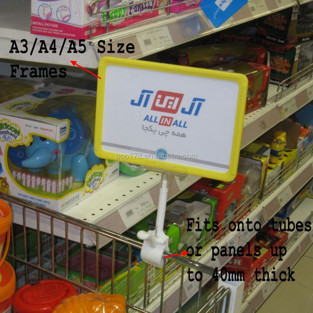 A4 Plastic Poster Board Frames With Clamp - Buy Plastic Poster Frame ...