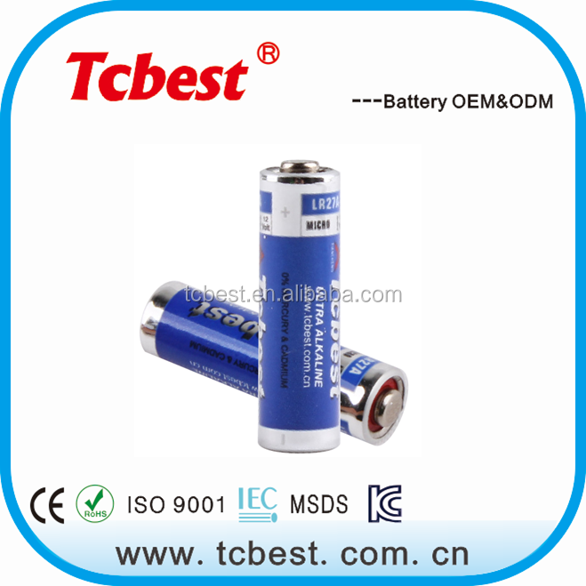 Environmental battery 21mah 12 volt dry cell battery