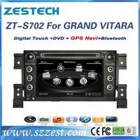 ZESTECH 7 inch Special Car DVD Player with Built-in GPS and Bluetooth for SUZUKI GRAND VITARA