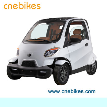 EEC approved 2 seats electric mini car 4 wheels remote controlled