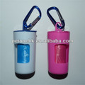 poop pet waste bag holder/pp waste bag dispenser