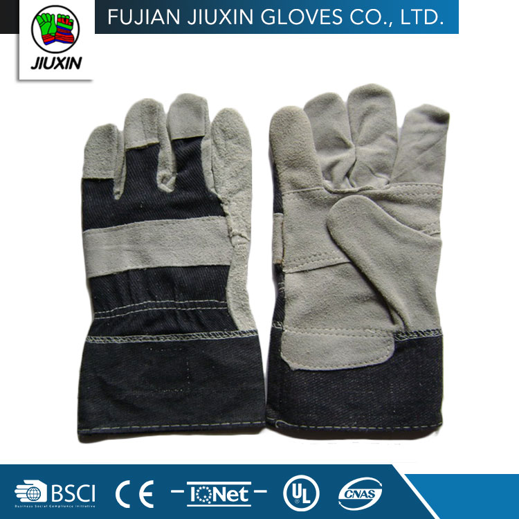 professional factory made high quality safety chrome leather glove