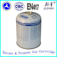 Cooking Gas Cylinders / LPG Gas Bottle / portable gas cartridge