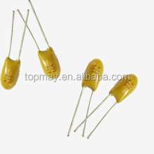Topmay 2015 hot sale radial tantalum capacitor 106 16v