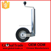 48mm Heavy Duty Telescopic Trailer Jockey Wheel With Clamp Fully Assembled Tyre..A1707.