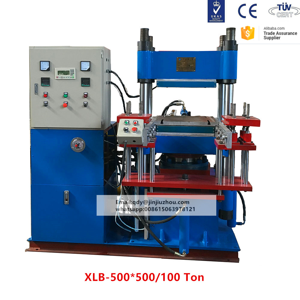2RT automatic type 100 Ton Pressure rubber o-ring vulcanizing machine and o ring trimming machine