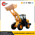 1.6ton mini wheel loader with 4 in 1 bucket for dingo mini loader