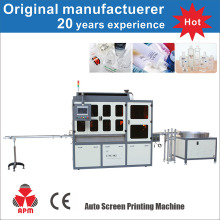 Electric Uv System Screen Printer For Round/Oval/Square Bottles