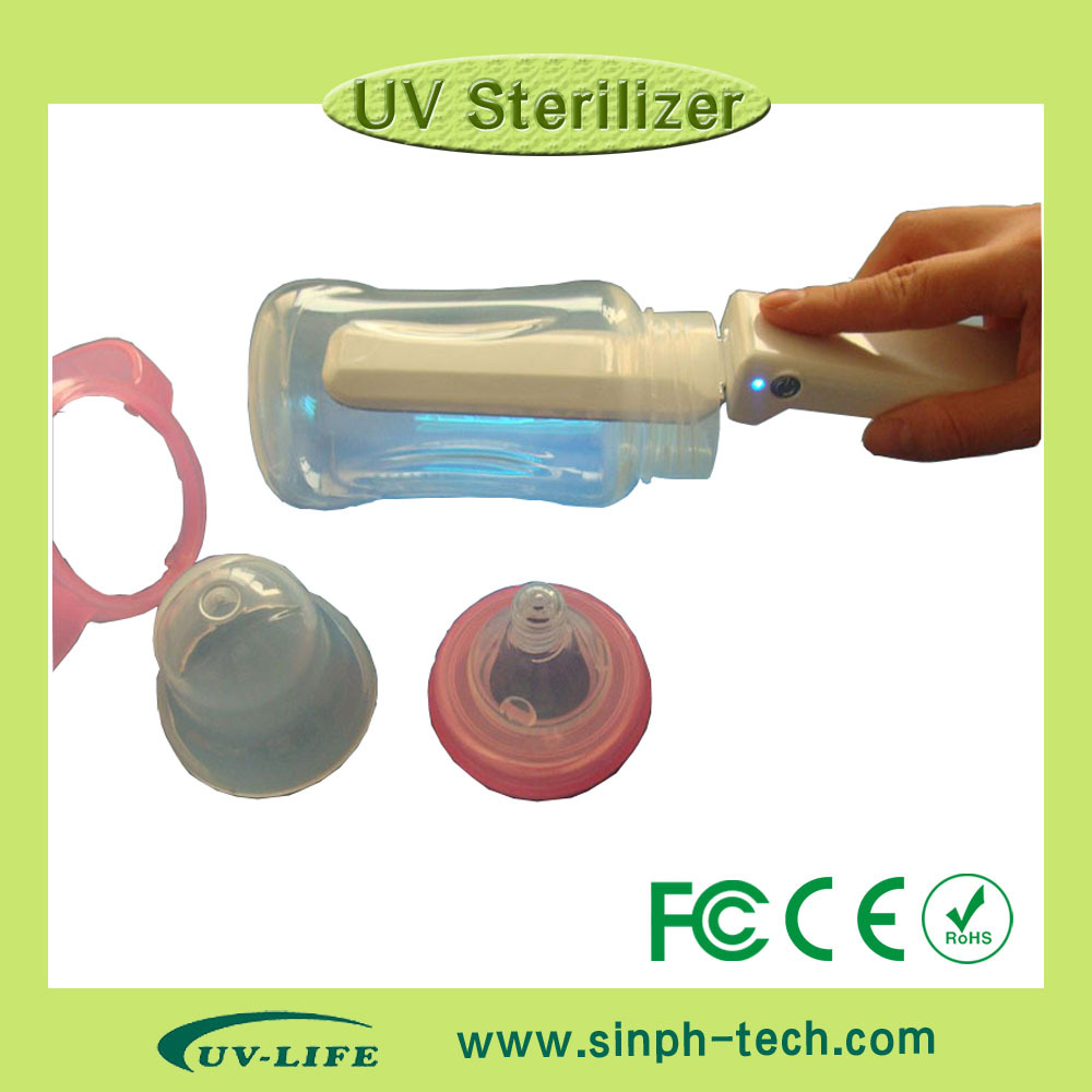 2018 portable new model baby UV milk bottle sterilizer