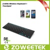 Stainless Steel Ultra Slim 2.4G Wireless Laptop Keyboard For Asus X51R