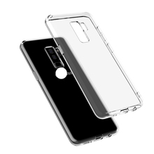 Free Sample Soft TPU Transparent Protector Clear Cell Phone Case for S9,S9+
