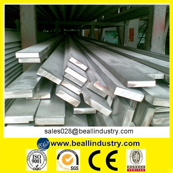 ASTM A276 201 304L 310S 316L 321 416 430 Stainless Steel Flat Bar
