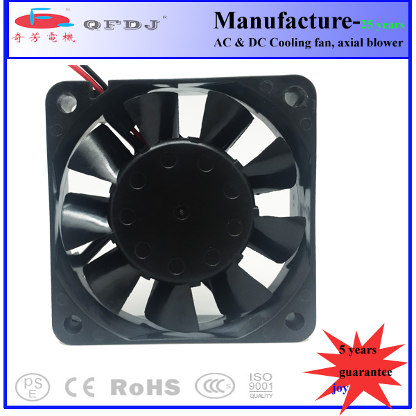 QFDJ electric radiator motor cooling fan with size 80mm 90mm 120mm ip65 ip55 ip68 dc axial fan