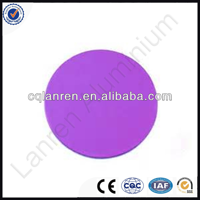 Density Pure Aluminium Foil Circles For Anodizing