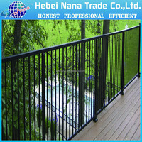 wholesale cheap picket tubular steel fence / Aluminum fence panel