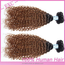100 percent hair product, Malaysian virgin hair afro kinky curly human hair weave, natural color
