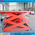 electric Cheap cargo scissor lift table for price