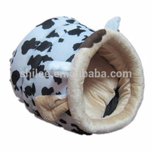 Hot sale plush animal shaped pet bed