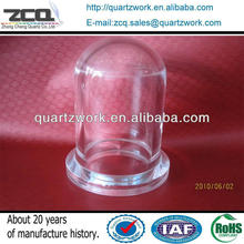 Pyrex Clear Quartz Glass Vaccuum Bell Jar For Chemistry Lab