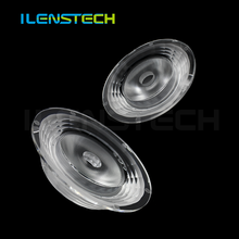 High power acrylic led lenses 10 degree big fresnel 90mm convex cob led lens for interior /outdoor lighting