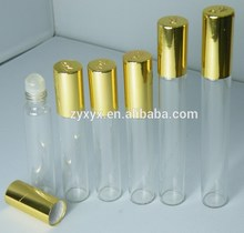 Mini Empty Thin Glass Perfume Test Tube Vial Essential Oil Glass Bottle