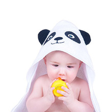baby boy bamboo hooded bath towel / baby bath towel hooded organic cotton / animal kids baby cap surf poncho hooded beach towel
