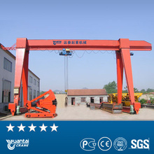Yuantai gantry crane 40 ton for double gaider from italy