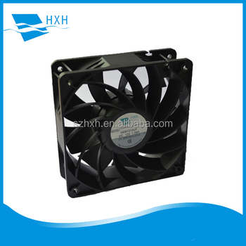 120mm AC and DC Dual-function EC Fan 120x120x38mm axial cooling fan by PWM Control