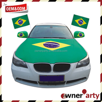 Factory Direct - Wholesale Car Window Flag Belgium Car Mirror Flag Car Mirror Cover Flag