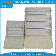Chinese manufacturer compressor air ventilation filter bag