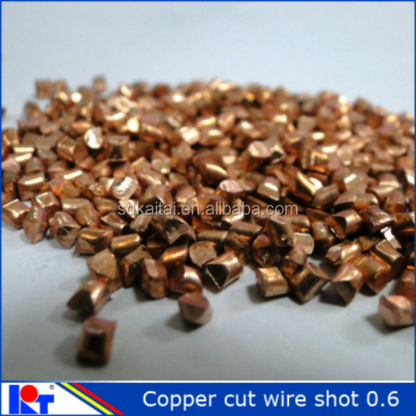 pure copper shot 2.5mm for polishing