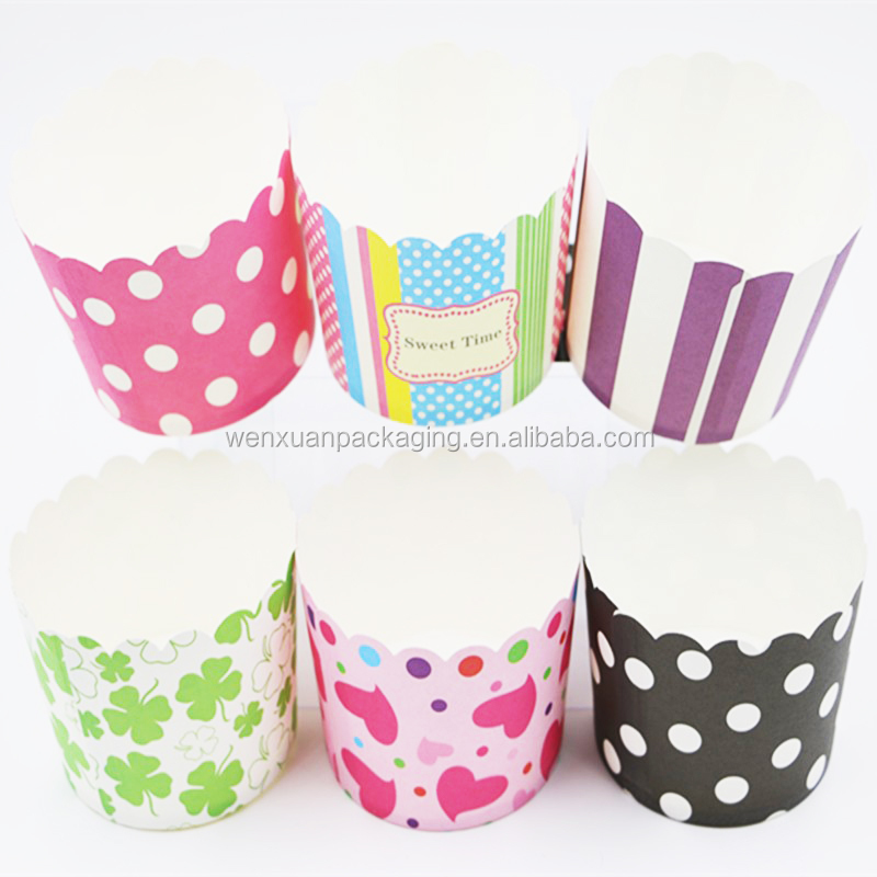High quality paper muffin cups ,disposable baking cupcake custom paper baking cups