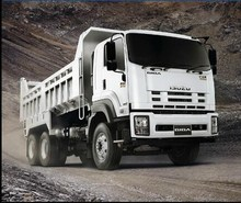 hot sale!SHANGHAI ISUZU used mack 20 ton dump truck