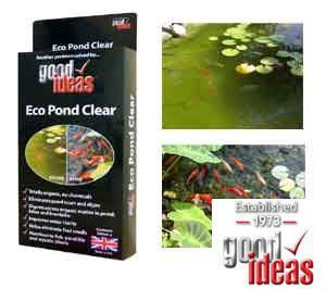 Good Ideas Organic Eco Pond Clear Pond Cleaner