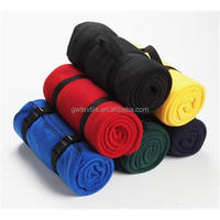 100% Polyester Polar Fleece Blanket for Picnic